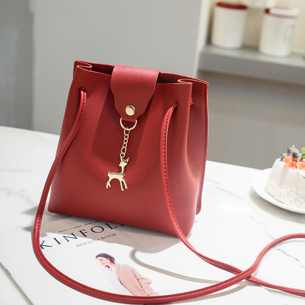 Cheap bag crossbody bags for women clutch bag hand sling Women Fashion Solid Deer Cover Crossbody Shoulder Phone Coin bolsos mujer