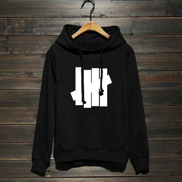 New Undefeated Hoodies 19ss Mens Hip Hop Street Sport Designer Hoodies Womens Loose Fit Oversize Pullover Sweatshirt