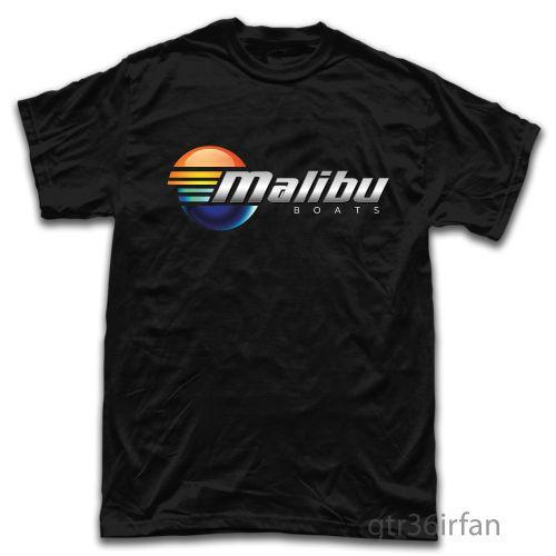 Malibu Performans Güç Tekneler Balıkçılık Yeni T-Shirt toptan Tops Tee özel Çevre baskılı Tişört ucuz toptan