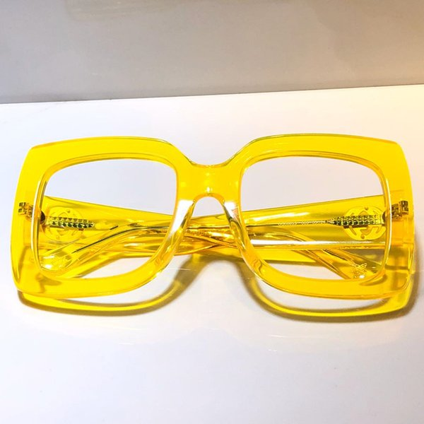 yellow clear lens