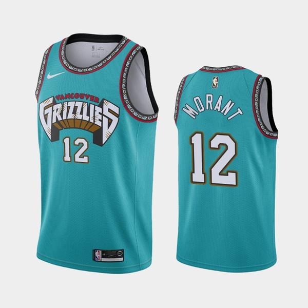2019 2020 Nbajersey Memphisgrizzlies 12 Ja Morant Short Embroidery Cityedition Basketball Jerseys Bule From Nbje1 38 58 Dhgate Com
