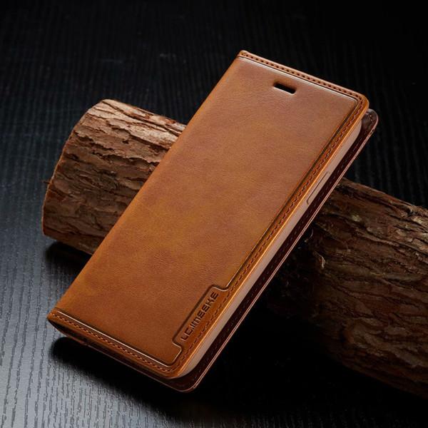 Für iPhone 11 Pro Xs Max 8 7 Mappen-Kasten-Luxus-PU-Leder-Telefon-Kasten mit Kartensteckplätzen für Samsung S10 S11 note10 9