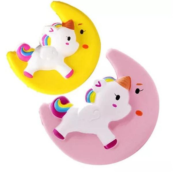 Unicorn Fidget Squishy Toy Cake Dog Bear Watermelon fly horse lemon penguin squishies Slow Rising Soft Squeeze Cute Decompression Toy