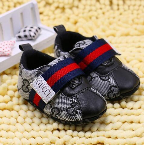 HOT! Marca de Moda Bebê Meninos Meninas Primeiros Caminhantes Bebê Interior Não-slop Sapatos Da Criança s888
