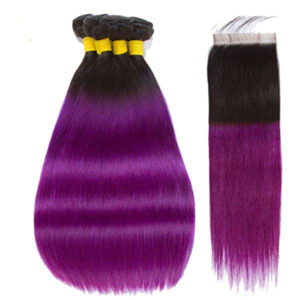 1b purple straight with closure