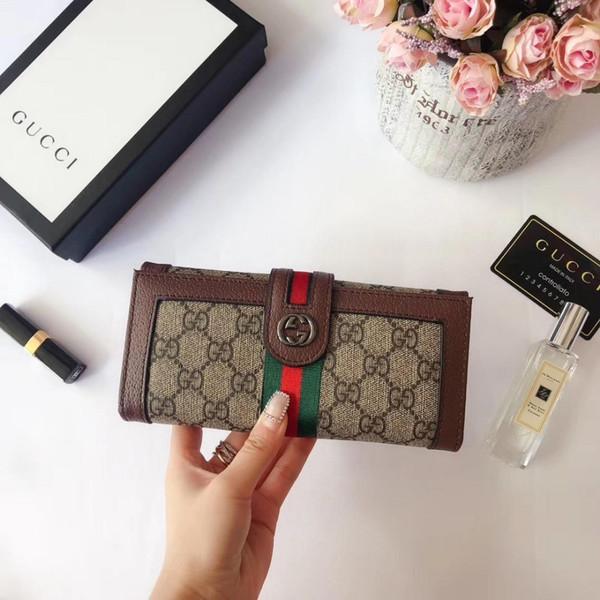 Дизайнер 2019 Горячая Мода Новые Мужские Кошельки для женщин кожа Высокого Качества Маленькие Кошельки Держатель Карты Luxury4