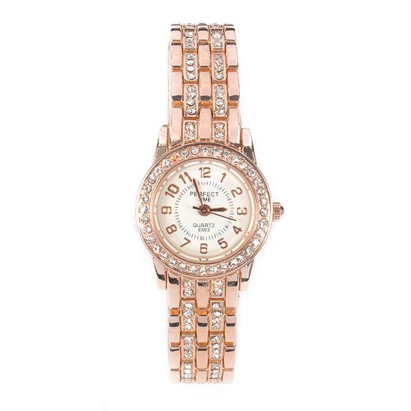 Mulheres Relógios Strass Analógico Display Quartz Pulseira Wistwatch Relógio Horas Data Display Analógico Relógio de Pulso