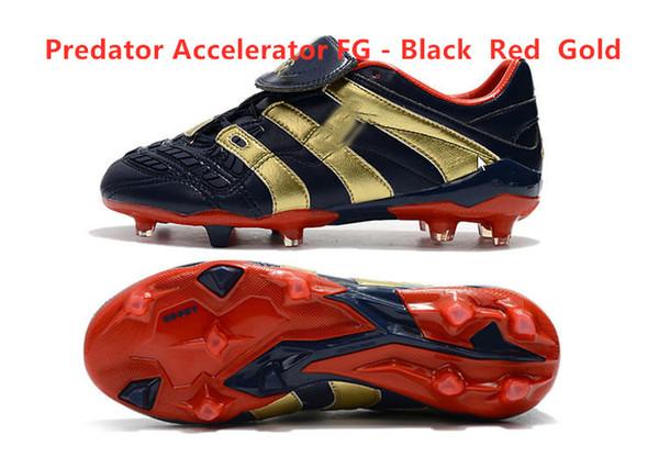 Hızlandırıcı FG - Siyah Kırmızı Altın