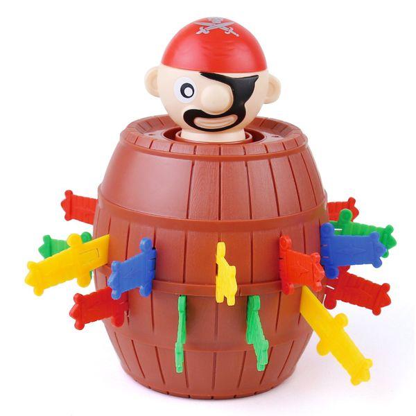 Novidade Toy pirata Balde para crianças e adultos Sorte Stab Pop Up Jogo Brinquedos Jogo Intelectual For Kids DHL