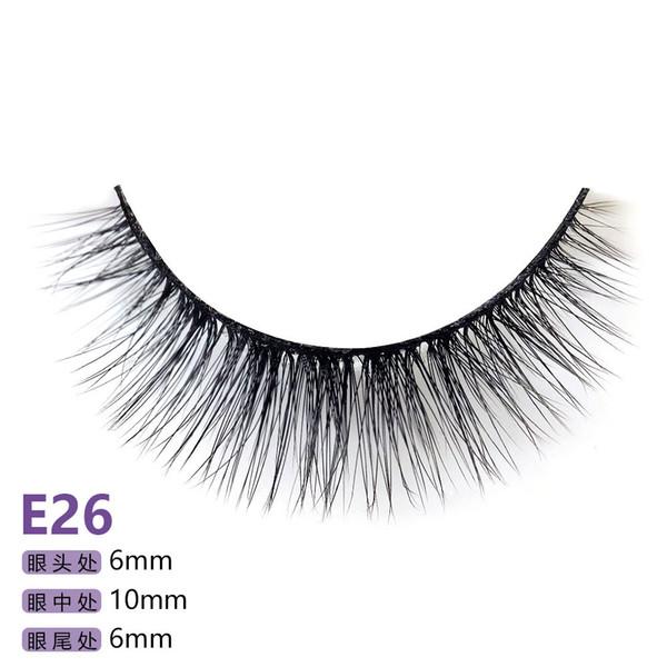 28 models of the E series 5pairs/set False EyeLashes 5 Pairs 3D Natural Long Fake Eyelashes Handmade Makeup Tools Accessories E26