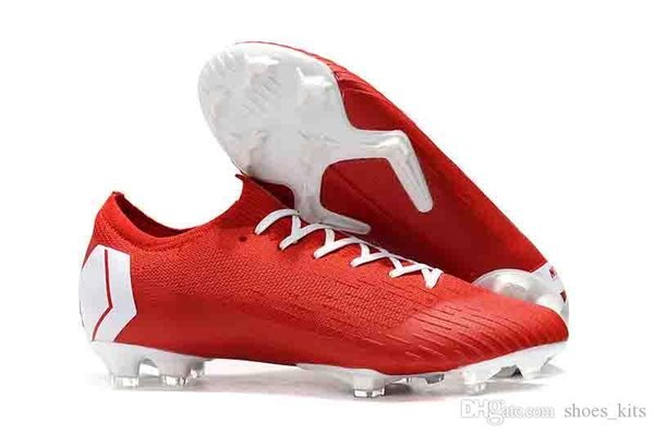 Mercurial Mens Superfly VI 360 Elite Game Over Soccer Cleats Ronaldo FG CR Low Soccer Shoes Women Chaussures Football Shoes Size 35-46