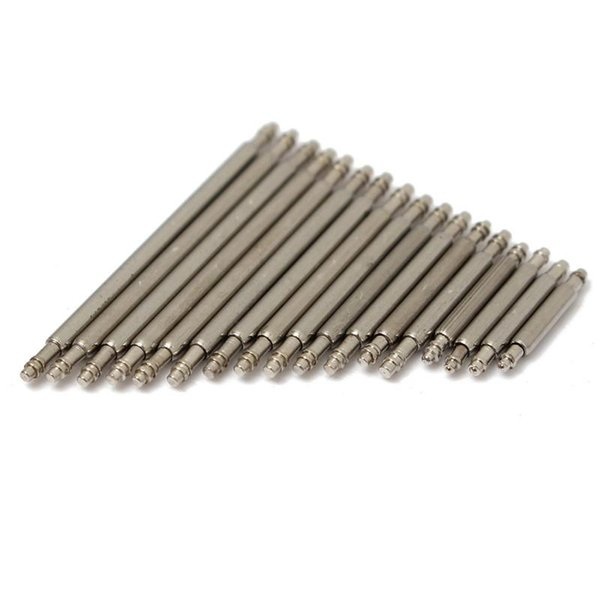 50pcs Length 8mm-25mm Band Spring Bars 1.3mm Steel Watches for Band Spring Bars With Strap Link Pins Remover Best
