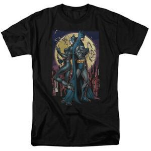 Unisex Paint The Town Red Catwoman Unisex Comics Licensed Adult T Shirt