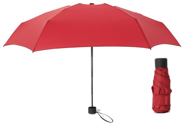 Mini Pocket Umbrella Women UV Small Umbrellas Rain man Women Waterproof Sun Parasol Convenient Girls Travel Kid