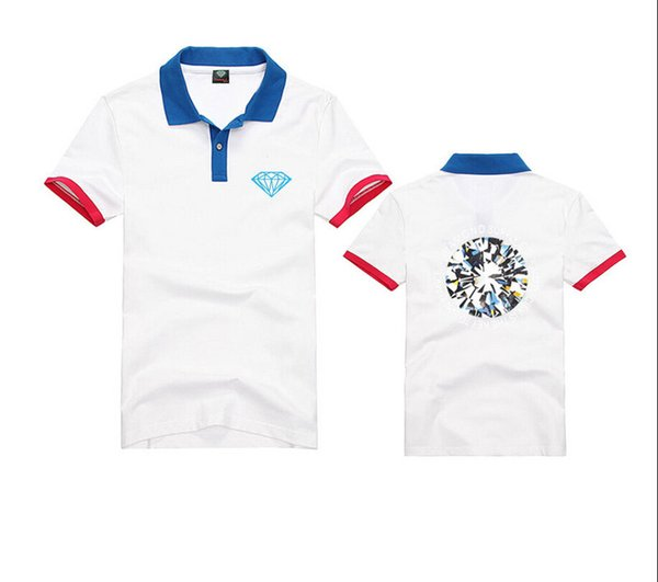 Pink dolphin-polo shirt number T-Shirt Man Men Walter White Cook Men Tops Tees Summer Fashion New