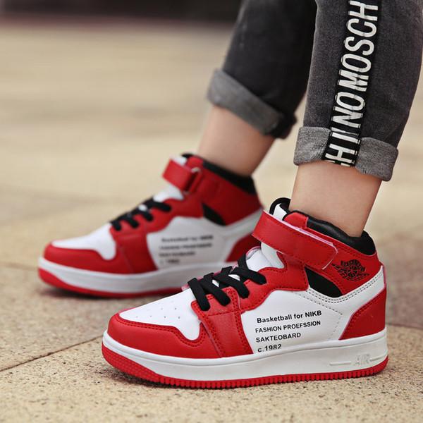 Schuhe Von Jungen Qualität Kinder Basketball Turnschuhe Für Gummi Outdoor Sportschuhe Hohe Dicke Bdshop Sohle Großhandel Rutschfeste qMVSUpz