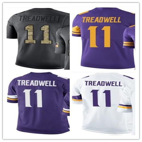 online store 80556 495bc 2019 Wholesale 2018 Minnesota Vikings Sport Baseball Clothing 11 Laquon  Treadwell Men/WOMEN/YOUTH Outdoor Clothing Legend Baseball Jersey From ...