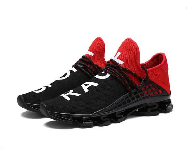 Erkek ve kadın bıçak bahar ayakkabı mesh breathab Sorrento Slip-on Tasarımcı Lady İki tonlu Kauçuk Alt Mikro Taban Rahat Ayakkabılar 36-48 G4.46