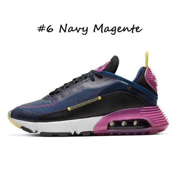 #6 Navy Magente