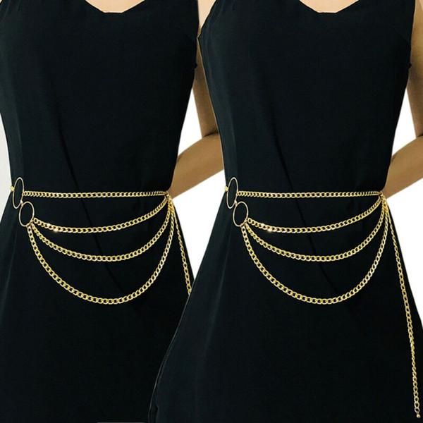 Sexy Многослойной Пояс цепи Длинной кисточка тело цепь Женщина пояса ювелирных изделия аксессуары Женщина кисточка пояс пояса
