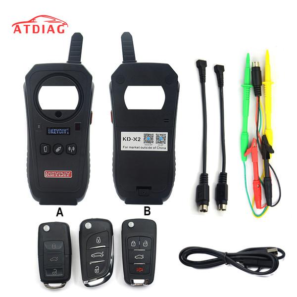 KEYDIY KD-X2 KD X2 Remote Maker Unlocker and Generator-Transponder Cloning Device with 96bit 48 Transponder Copy No Token