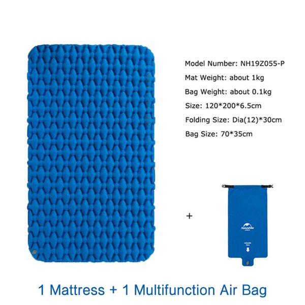 Blue Mat and Air Bag