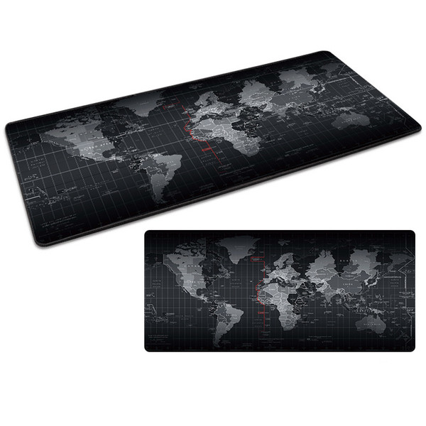 best selling Produce customized Mouse Pad Large Mouse Pad Gamer Big Mouse Mat Computer Mousepad Rubber Surface Keyboard Desk Mat with Locking Edge
