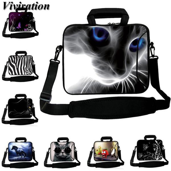 "Viviration Women Brtiefcase 14 Inch Laptop Case Messenger Computer Bag 15 15.6 13 12 17 10 12.9"" 10.1 Inch Tablet PC Cover Case"