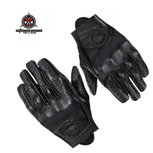 Motocross Motorcycle Gloves Touch Screen Waterproof Motorbike Gloves Moto Racing Riding Tribe Winter Retro Guantes Piel