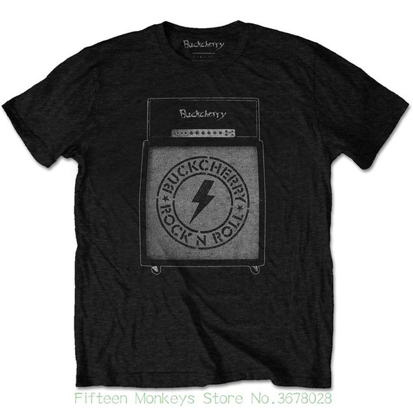 Nouveau mode cool T-shirts décontractés T-shirt Buckcherry pour hommes: Amp Stack (X Large) T-shirt pour hommes Xlarge