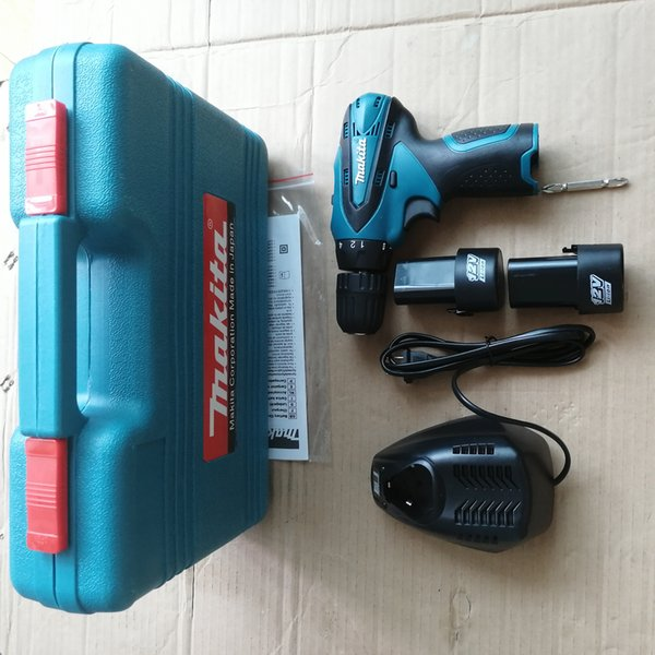Hot sale power tools DF 330 power tool 6-Pieces electric hammer drill/screw drive Combo Kit 100% positive feedback free shipping
