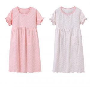 Summer pajamas for girls sleepwear cotton pajamas heart shape dot children sleeping clothes for kids girls home clothes LJJV269