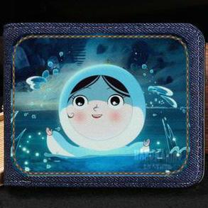 Song of the Sea wallet Nice story purse Cartoon short cash note case Money notecase Leather jean burse bag Card holders