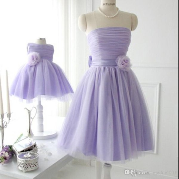 Mother Daughter Clothes Dresses Wedding Princess Tutus Matching Mon and Girl Dress Flower girl dresses Party Wedding Dresses