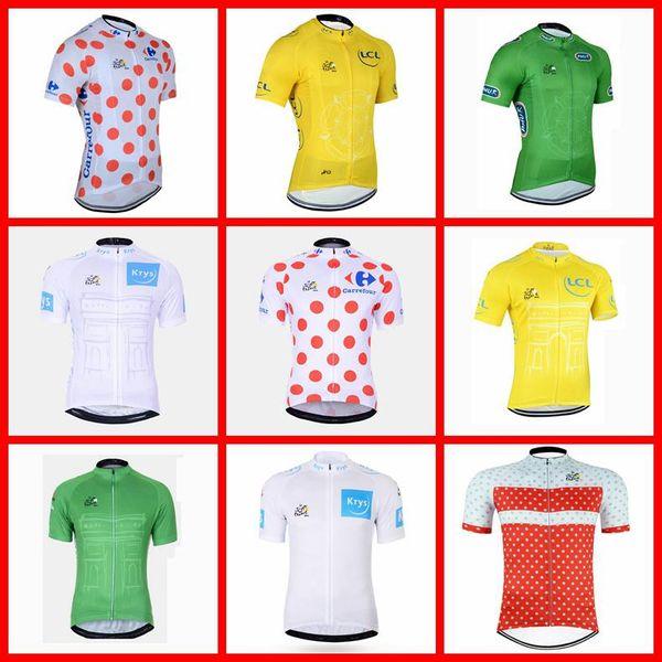 TOUR OF FRANCE team Radfahren Kurzarmtrikot Atmungsaktiv Rennrad Tragen Sommer rennrad Kleidung Männer N03026011