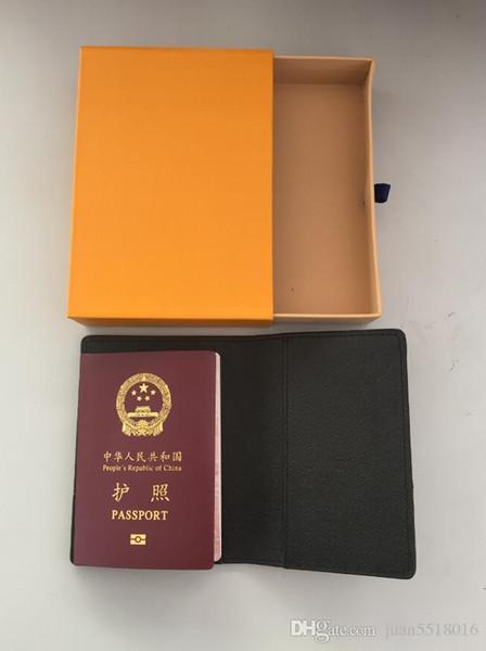 Nice Men Genuine Leather Passport Cover Wallet Women Luxury Credit Card Holder Men Business Card Holder Travel Wallet Porte Carte Carteira