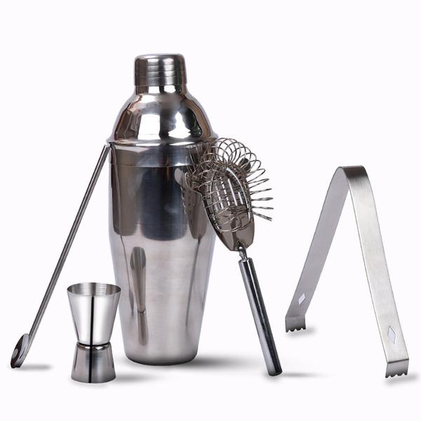 550ML stainless steel wine modulator set of wine blending tools broken ice bar wine shaker Xue Ke cup ice filte