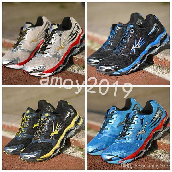 newest 28ae7 7748c 2019 New Arrive Authentic MIZUNO WAVE PROPHECY 2 Men Designer Sports  Running Shoes Sneakers Mizunos 2s Casual Mens Trainers Size 40 45 From  Shoptimes, ...