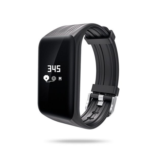 K1 Braccialetto intelligente Braccialetto intelligente Pedometro Cardiofrequenzimetro Banda intelligente IP67 migliore braccialetto fitness Activity Tracker
