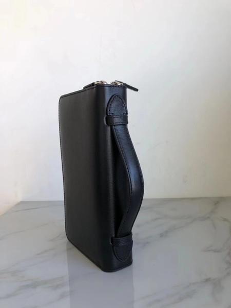 Charm2019 Gümrüksüz Kaliteli Mal Hakiki Adam Hem Çekme Cüzdan İtalya Özel Hüküm Deri Saf Orijinal Kuyruk Tek High-end marka