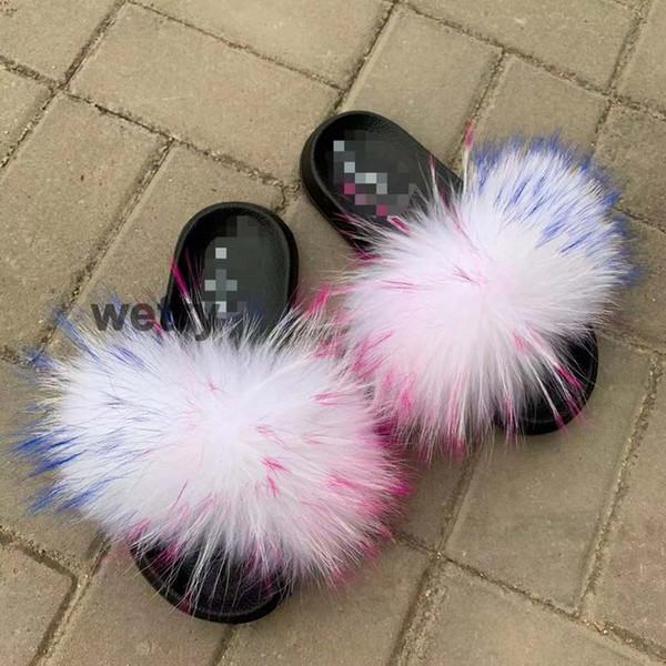 Raton laveur slippers_26 fourrure