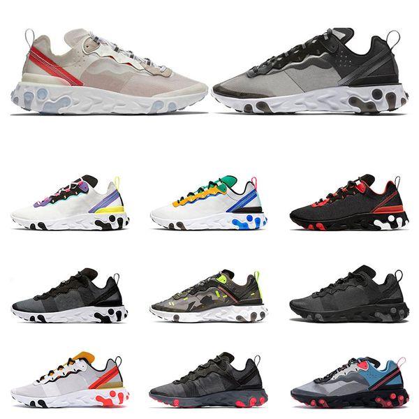 nike react Bianco Volt triplo bianco nero Hot Punch Teal donna sneaker uomo scarpe da ginnastica taglia scarpe sportive eur 36-45