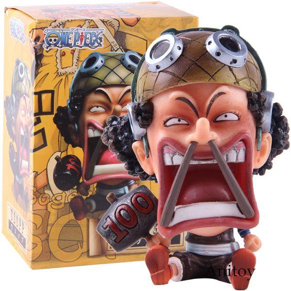 Anime PVC One Piece Statua PVC Usopp Figura da collezione Toy Model PVC Spedizione gratuita