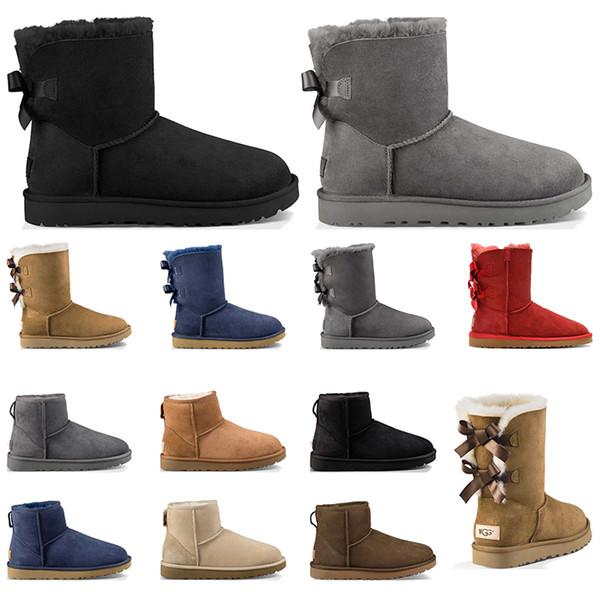 luxury designer australia classic fur snow boots women
