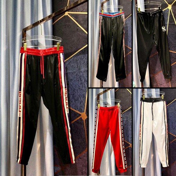 2019 erkek tasarımcı eşofman altı ünlü marka erkek jogging yapan pantolon sokak giyim yüksek kalite moda erkek pantolon CI