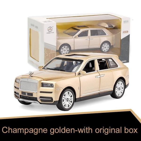 Золотой с коробкой