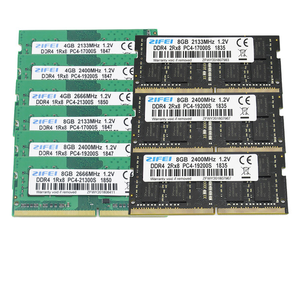 DDR4 8GB 4GB 16GB 2133 2400 MHz così dimmer RAM per laptop SDRAM