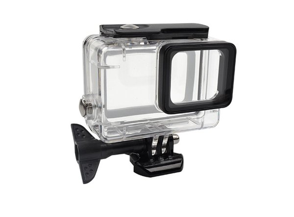 Wholesale Gopro accessopries 45m Underwater Diving Waterproof Protective Case Shell Cover Housing Skeleton frame for Gopro hero 5/6