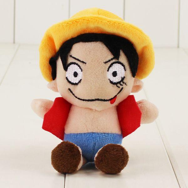 2019 Kawaii One Piece Monkey D Luffy Plush Toys Soft Pleuche Anime Doll Baby Kids Gift With Sucker Bunny Plush Toy Dog Stuffed Toys From Etamkend