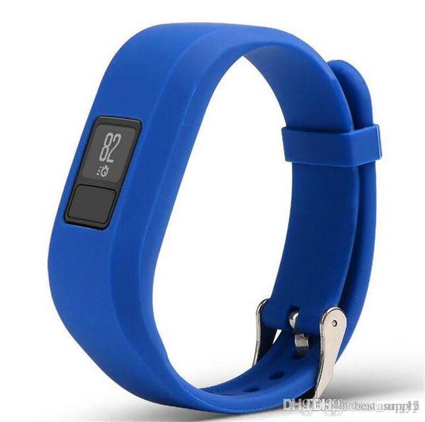 Fast Ship New Soft Silicone Replacement Wrist Watch Band Strap for Garmin Vivofit3 Vivofit 3 Smart Watch 2019